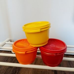 Tupperware Kitchen Set Of Vintage Containers Poshmark